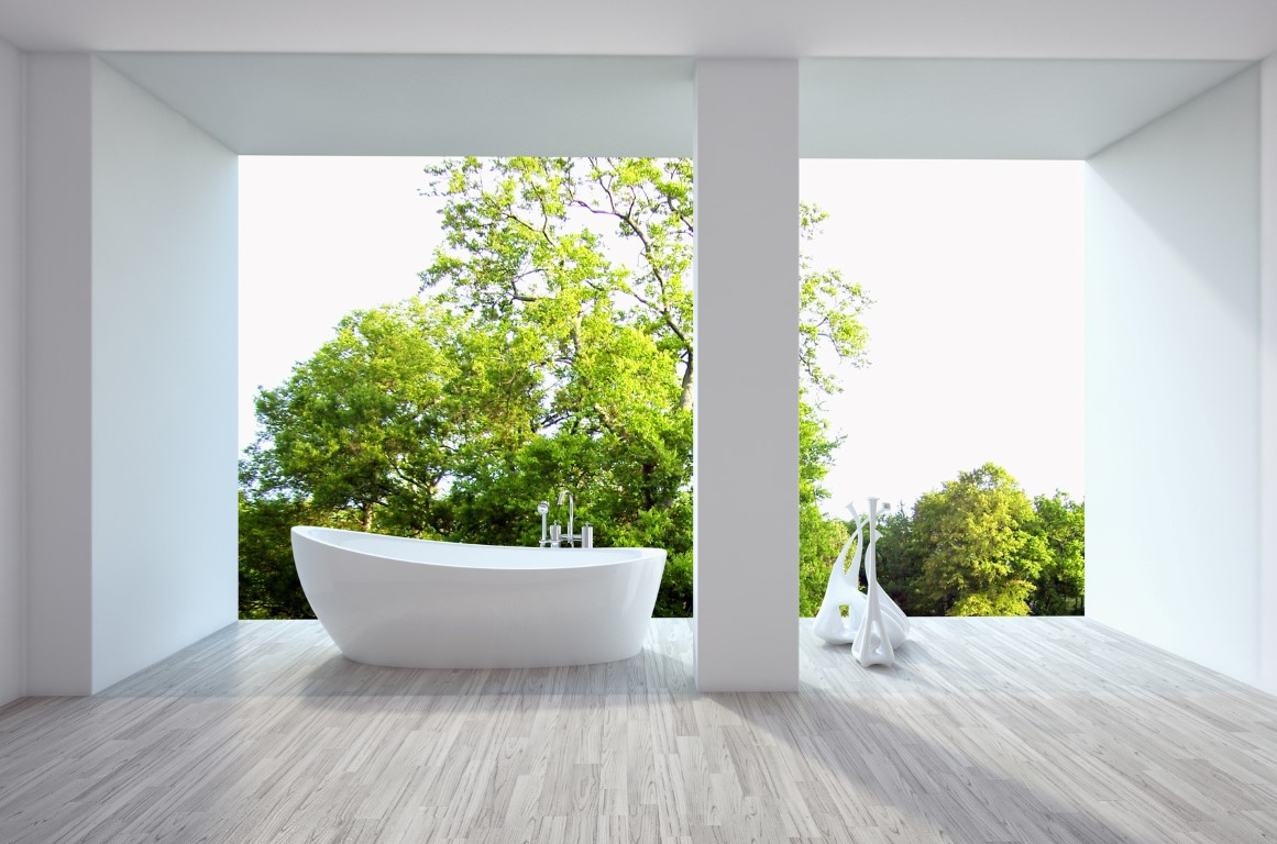 Tree-Backround-Bathtub